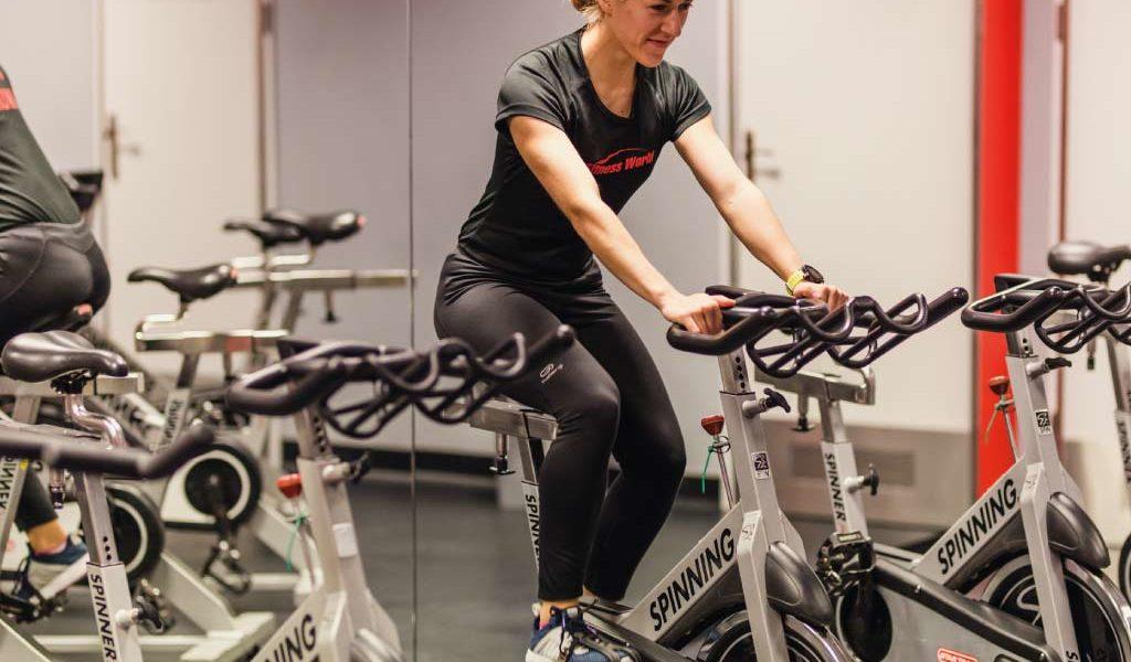 Fitness World Szczecin - rowery