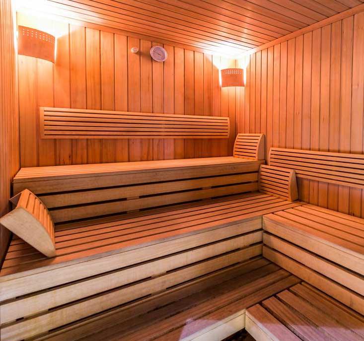 Fitness World Szczecin - sauna